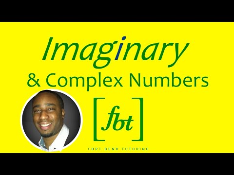Imaginary and Complex Numbers [fbt]