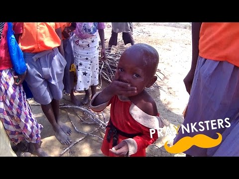 African Children Experience POP ROCKS for the 1st Time