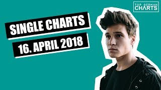 TOP 20 MUSIK SINGLE CHARTS - 16. APRIL 2018