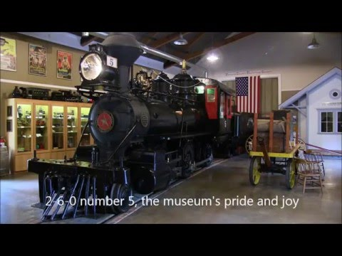 A tour of the Nevada County Narrow Gauge Railroad Museum