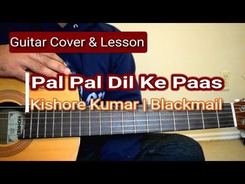 Pal Pal Dil Ke Paas | Blackmail | Guitar Chords Lesson | Kishore Kumar