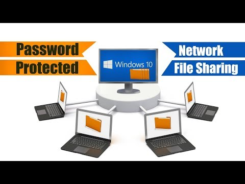 Windows 10 Password Protected Network File Sharing