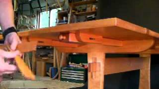 Part 2 Attaching Trestle Table Leaves With Timothy Clark, Cabinetmaker/chairwright