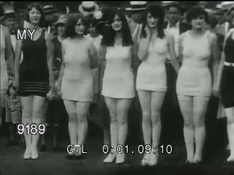 43f0fe32ec 1920s Women in Bathing Suits - YouTube