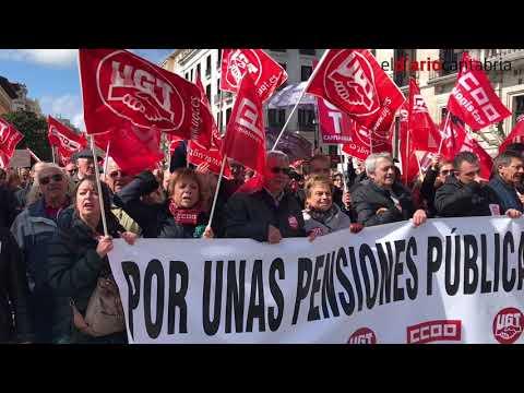 Manifestación Pensiones Santander 17 de marzo 2017