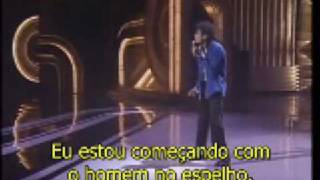 MICHAEL JACKSON - GRAMMY - MAN IN THE MIRROR LEGENDA PORTUGUES