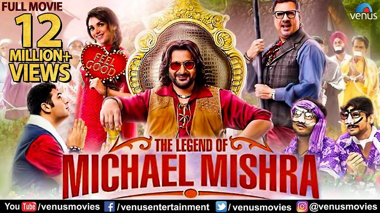 Download The Legend Of Michael Mishra | Hindi Comedy Movies | Full Hindi Movie | Arshad Warsi | Boman Irani
