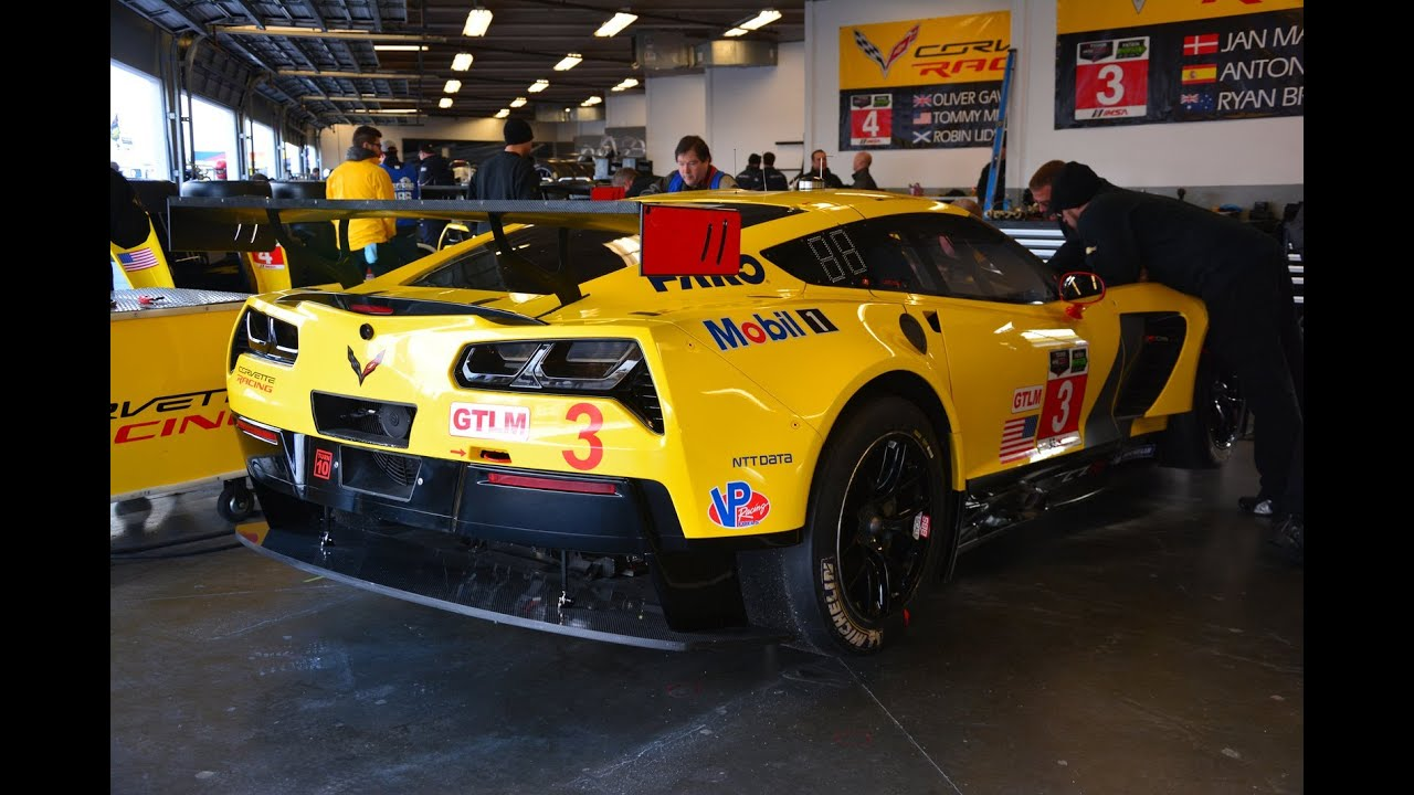 2015 Corvette C7 R On Track Youtube