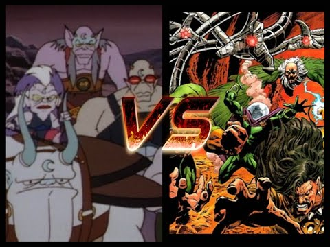 OPINION SPOT#219-The Lunatacs Vs The Sinister Six