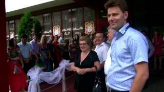 Банкетный зал  Розовая свадьба Геннадия и Ольги(Банкетный зал для проведения свадьбы, юбилея в Москве. http://botov-prazdnik.ru/video