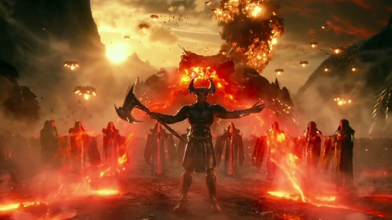 Download Darkseid War (History Lesson) | Justice League [UltraHD, HDR] in hindi