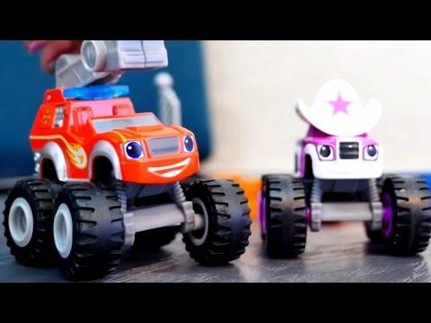 Видео для детей: Маша и машинки Вспыш, Старла. Герои мультфильма ВСПЫШ и Чудо-машинки.