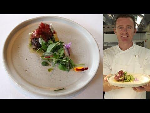 Dan Hunter's eggplant and saltgrass lamb: 50-Second Dish