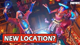 WIZARD LOCATION COMING? SECRET MAP CHANGES! FORTNITE SEASON 6 STORYLINE