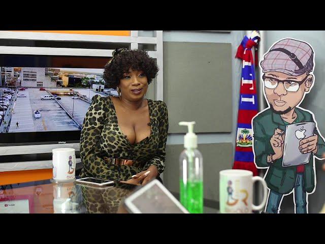 Pi lwen ke zye tv - show PLKZ Coralie Silvain Présentatrice