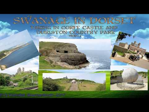 Swanage taking in Corfe Castle and Durlston Country Park in 2017, Dorset, England. ( 3 )