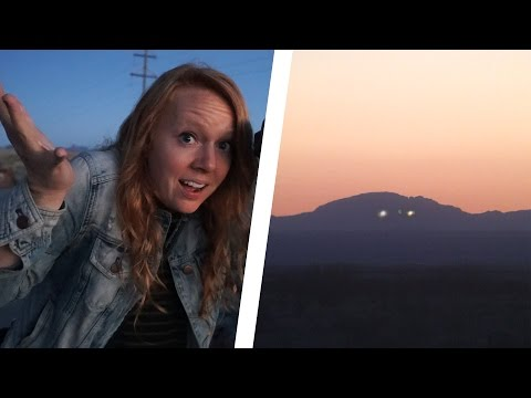 UNEXPLAINABLE LIGHTS IN THE SKY! - Marfa Texas
