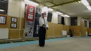 hassogaeshi ushiro barai [TUTORIAL] basic Aikido weapon technique /hasso no bu