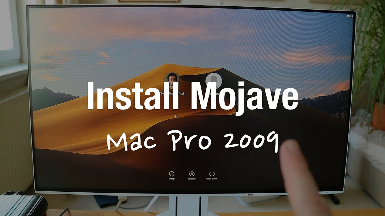 macOS Mojave on old unsupported 2009 Mac Pro (Review, Installation,  Performance Test)