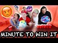 EXTREME MINUTE TO WIN IT CHALLENGE   Couple Vs. Couple