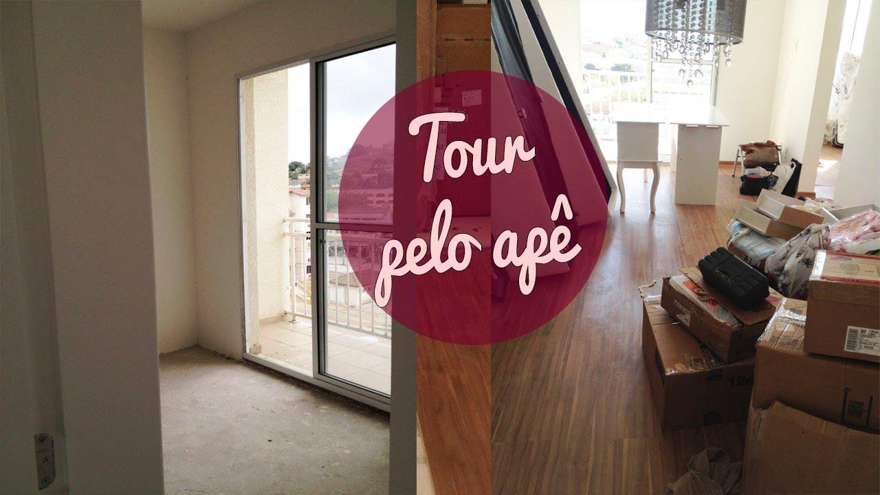 Tour pelo apartamento antes da reforma coloca o do piso for Pisos para apartamentos pequenos