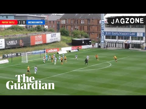 'What on earth has he given?': Partick Thistle denied as officials miss goal