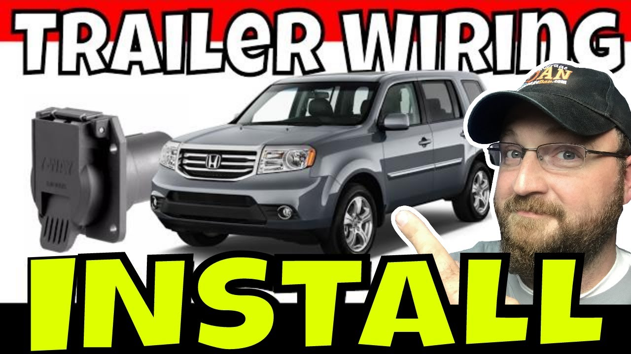 2013 honda pilot trailer towing wiring kit installation 118265Honda Pilot Trailer Hitch Wiring #9