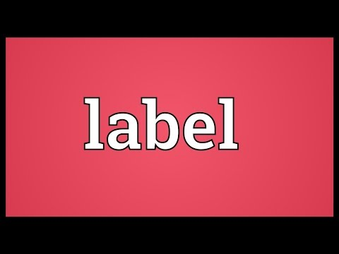 Label Meaning