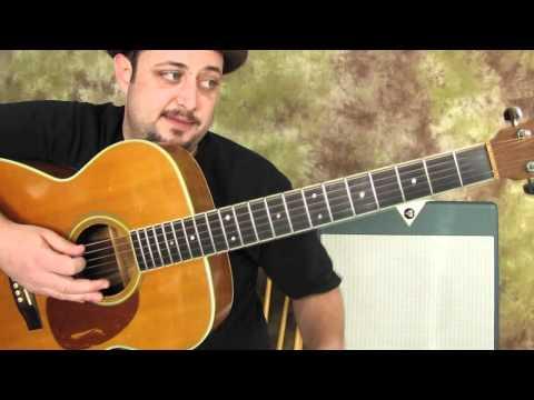 Guitar Lessons - Acoustic Guitar - Chord Embellishing lesson