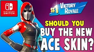 Should You Buy The New Ace Starter Pack?!! (Nintendo Switch) - Fortnite Battle Royale Gameplay