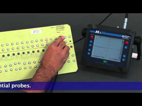 Eddy Current testing for flaws in hidden layers
