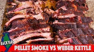 Smoked Ribs Test - Weber Kettle Vs Pellet Smoker