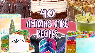 40 Cake Recipes | Super Compilation | Well Done