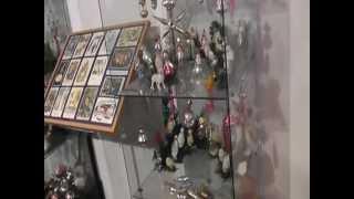 видео Музей елочной игрушки в Клину. Клинское подворье