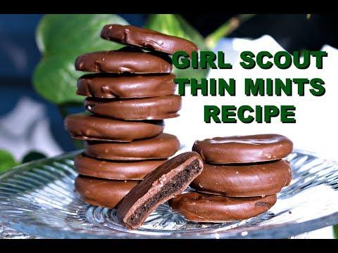 Homemade Vegan Thin Mints - Copy Cat Girl Scout Recipe