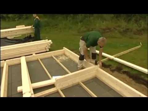 Montage Maison bois en kit - Autoconstruction - Maison En Bois Autoconstruction