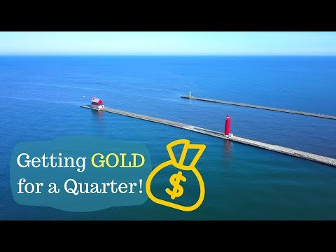 Metal Detecting - Michigan Beaches and [Buying Gold and Silver]