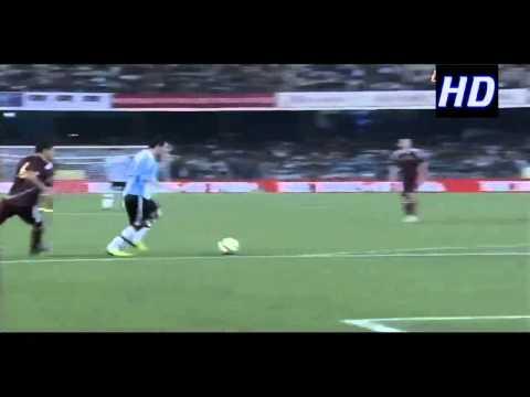 [HD] Lionel Messi vs Venezuela Kolkata, India