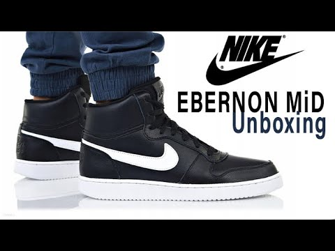 Suministro impactante cerveza negra  Nike EBERNON MID UNBOXING - YouTube