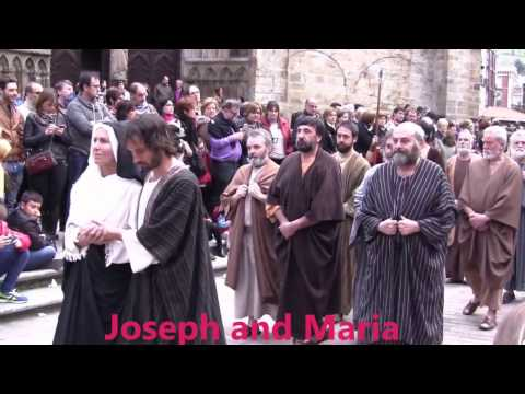 Via Crucis Balmaseda  Holy Thursday's procession of the pasos