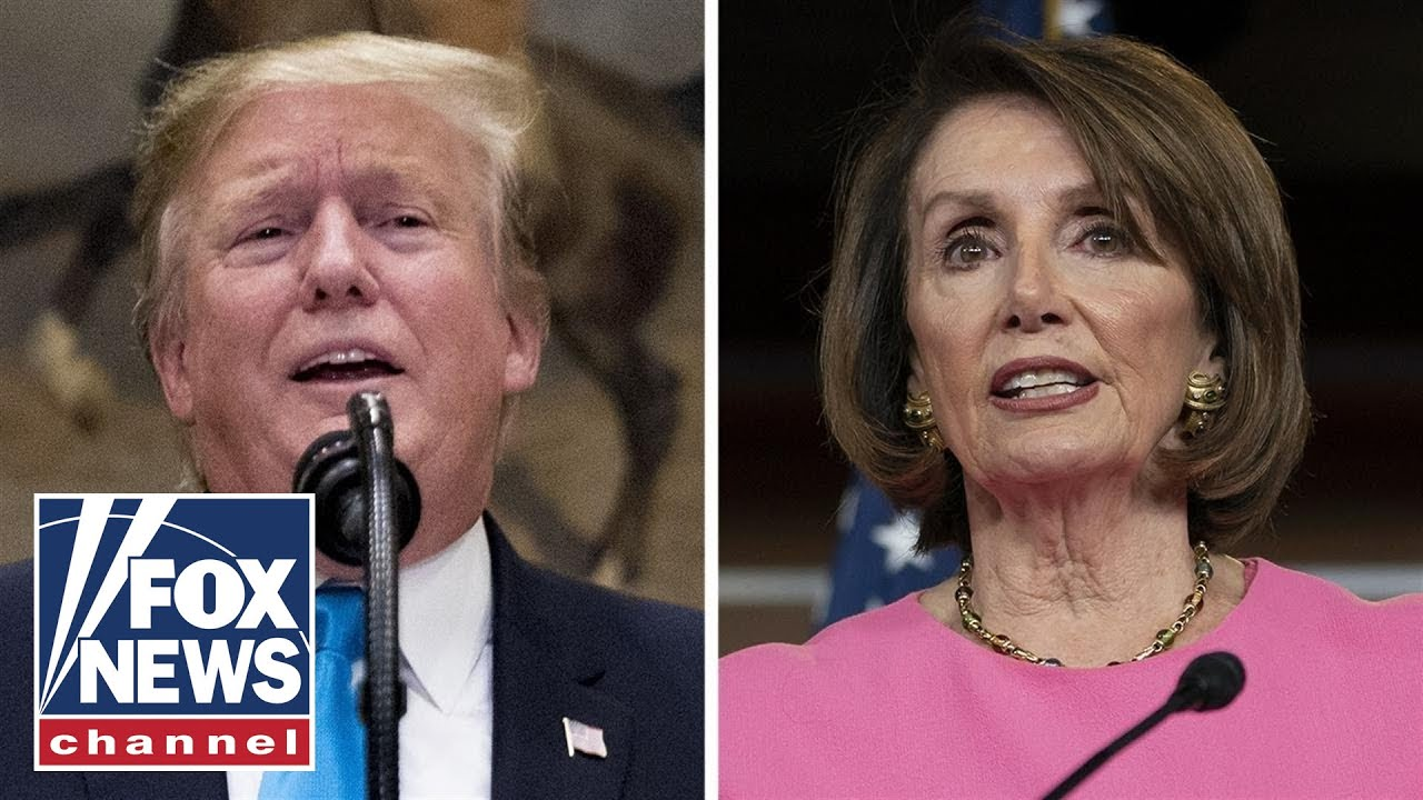 'The Five' on the escalating Trump-Pelosi feud