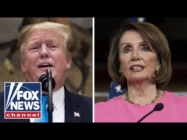The Five on the escalating Trump-Pelosi feud