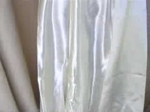 satin silk crinolin slip sexy hot! love it! VINTAGE CLOTHING FROM EBAY SELLER MSFIRECRACKER.mov