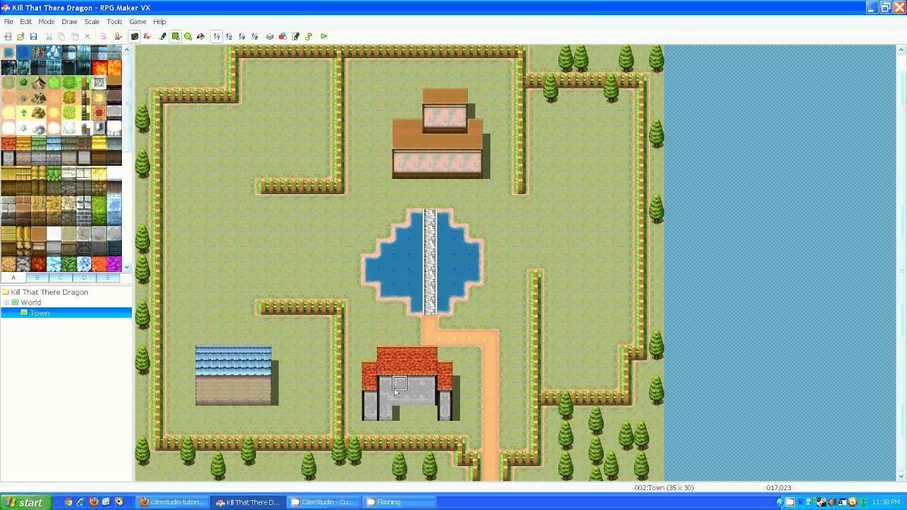 RPGMaker VX - Complete Game Walkthrough: Part 1 - YouTube