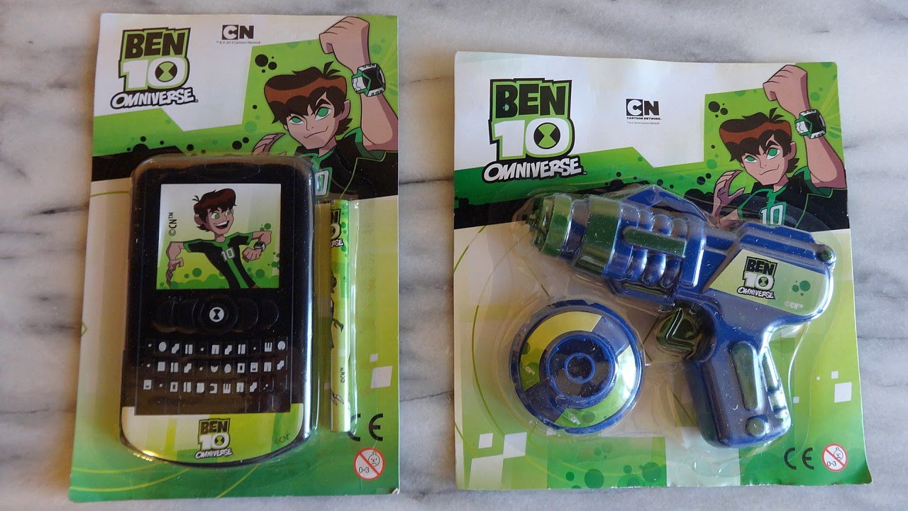 Ben 10 Omniverse Toys 2015