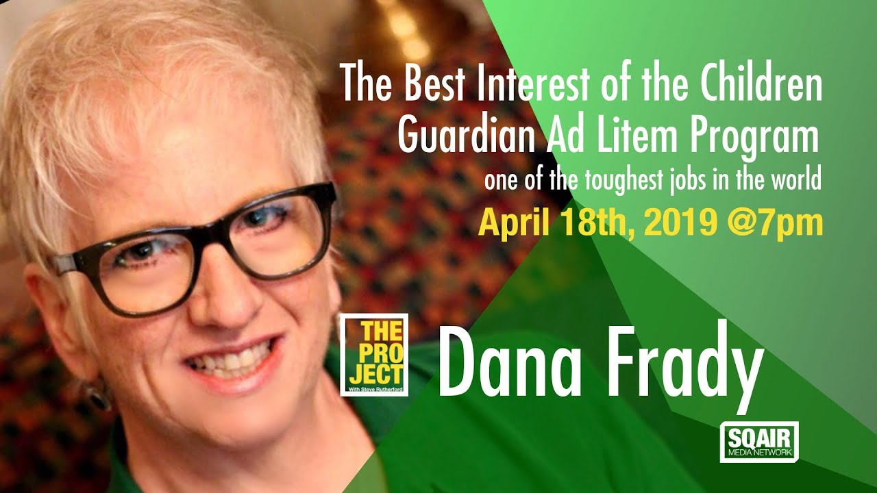 DANA FRADY Appearing on The PROJECT with Steve Rutherford