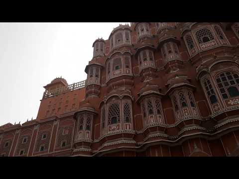 हवा महल/ Hawa Mahal 953 Windows/ Air for MAHARANI's @ Pink city Gulabee Shahar Jaipur Rajasthan from YouTube · Duration:  2 minutes 4 seconds