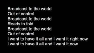 Zebrahead - Broadcast to the world lyrics