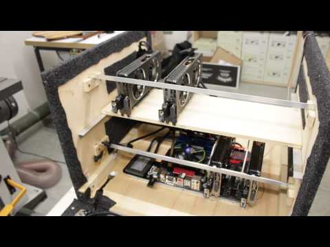 GPU Mining Rig - DIY Build and Experiences, 1.7-1.8 Mhash/s