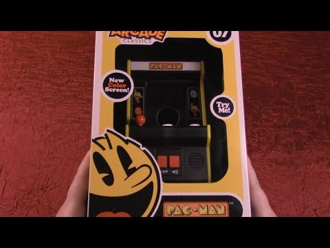 ASMR Mini PAC-MAN Arcade Machine